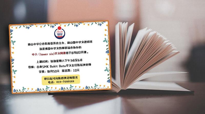 中六华文网课